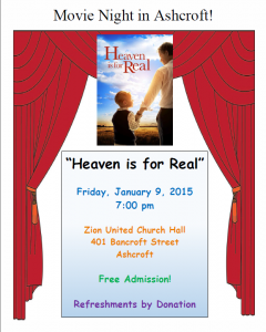 Heaven is for Real Poster 150109